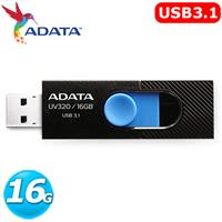 ADATA 威剛 UV320 16GB USB3.1 上推式隨身碟 ( 黑色 )