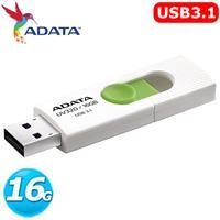 ADATA 威剛 UV320 16GB USB3.1 上推式隨身碟 ( 白色 )