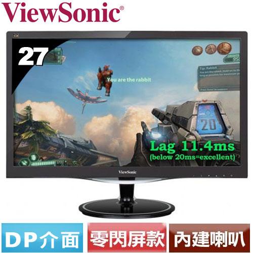 ViewSonic優派 27型極速電玩液晶螢幕 VX2757MHD
