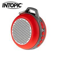 【INTOPIC】廣鼎 多功能炫彩LED藍牙喇叭 SP-HM-BT173 紅