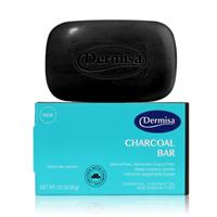 Dermisa(美)-竹炭控油皂(Charcoal bar) 1入
