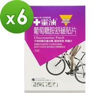 【十靈本舖】十靈油葡萄糖胺舒緩貼片6盒組(共30片)