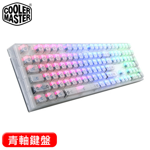 Cooler Master 酷碼 MasterKeys ProL RGB 水晶版 青軸