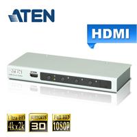 ATEN宏正 4埠 HDMI 影音切換器4K2K(VS481B)