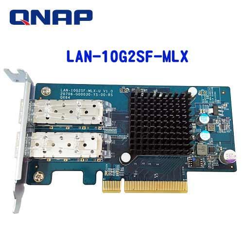 QNAP威聯通 10 GbE 雙埠 擴充卡LAN~10G2SF~MLX