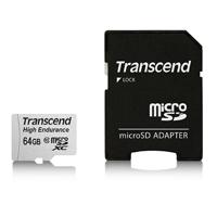 Transcend 創見 高耐用 MLC顆粒 microSDXC Class 10 / 64G 記憶卡