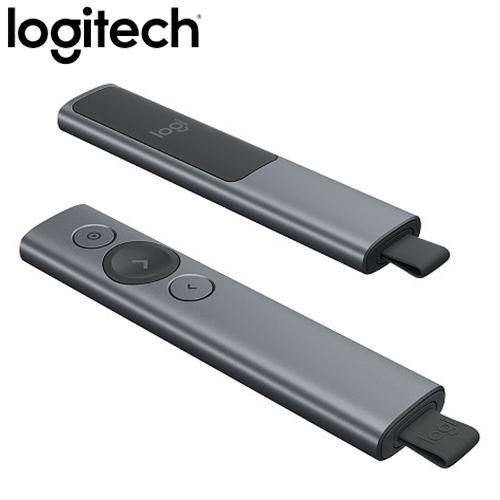 Logitech 羅技 Spotlight 簡報器 質感灰