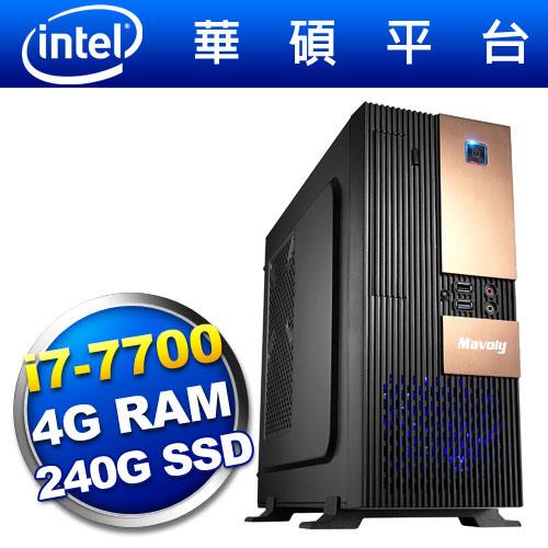 華碩H110平台【武行邪神】i7四核SSD電腦