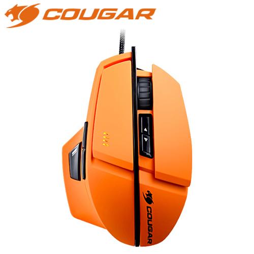 COUGAR 美洲獅 600M 雷射電競滑鼠 橘 8000dpi