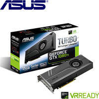 ASUS華碩 GeForce TURBO-GTX1080TI-11G 顯示卡