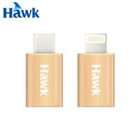 Hawk Micro USB 母 轉 Type C轉接頭 公(金)