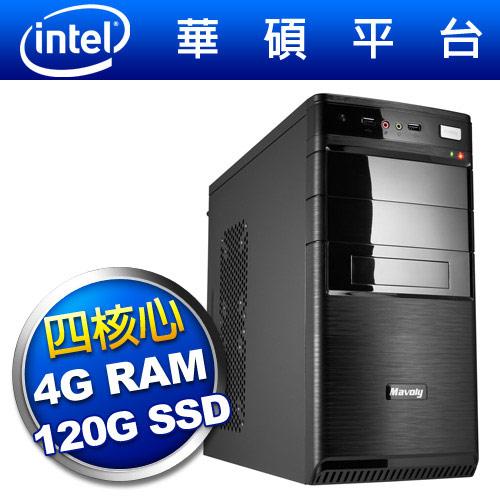 華碩平台【亂武狂刀】四核效能SSD電腦
