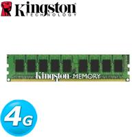 Kingston金士頓 DDR4-2400 4GB 桌上型記憶體