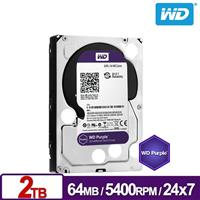 WD20PURZ 紫標 2TB 3.5吋監控系統硬碟