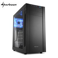 Sharkoon旋剛 S25-W BK 守衛者 電腦機殼
