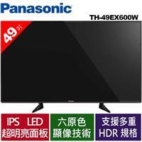 *出清*Panasonic  49吋4K電視 TH-49EX600W