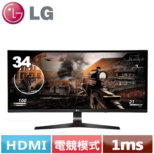 LG 34型 21:9 UltraWide曲面電競液晶螢幕 34UC79G