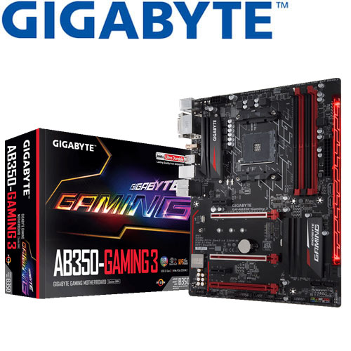 Eclife-GIGABYTE GA-AB350 Gaming 3