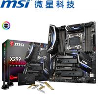 MSI微星 X299 GAMING PRO CARBON AC 主機板