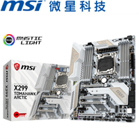 MSI微星 X299 TOMAHAWK ARCTIC 主機板