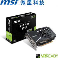 MSI微星 GeForce GTX 1060 AERO 6G OC 顯示卡