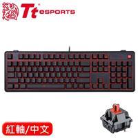 Thermaltake 曜越 拓荒者Pro 背光機械鍵盤Cherry 紅軸 中文