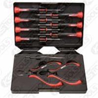 KSTOOLS ESD抗靜電工具系列500.7180 抗靜電精密工具套組 (鉗子+螺絲起子+鑷子)