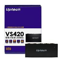 Uptech VS420 4-Port 螢幕分配器(高頻版)