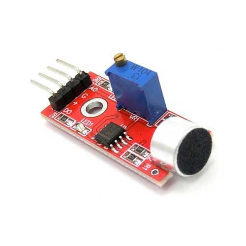 声音模组 高感度麦克风传感器模组0687a  k1020215 5v直流电源供电