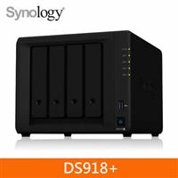 Synology DS918+ 4Bay 網路儲存伺服器