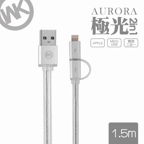 Eclife-WK WDC017 21LIGHTNING/MICRO-USB