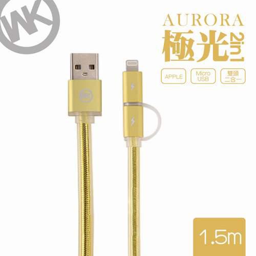 Eclife-WK WDC017 21LIGHTNING/MICRO-USB