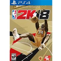 PS4遊戲《NBA 2K18 - 黃金傳奇珍藏》中英文合版