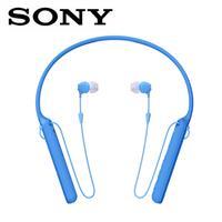 【公司貨-非平輸】SONY 無線藍牙頸掛入耳式耳麥WI-C400-L藍