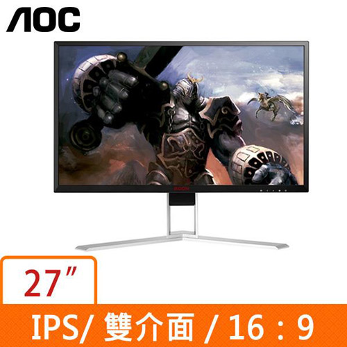 AOC 27型 AGON (16:9)液晶螢幕 AG271QG