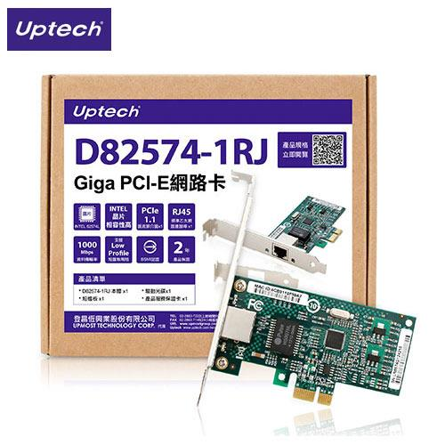 Eclife-Uptech  D82574-1RJ Giga PCI-E