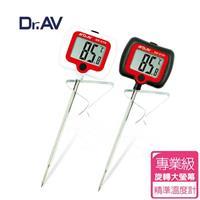Dr.AV 旋轉大螢幕液體探針溫度計 單入