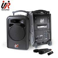 UR SOUND 雙頻藍芽/CD/USB/SD移動式無線擴音機 PA9223CDNB