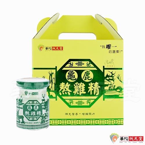 華陀扶元堂 龜鹿熬雞精 (12瓶/盒)