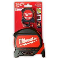 Milwaukee 米沃奇 加強型高規雙面捲尺附磁 8M (附贈一個2米捲尺)