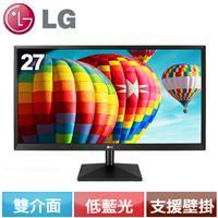 LG 27型 FHD 護眼低藍光AH-IPS電競螢幕  27MK430H-B