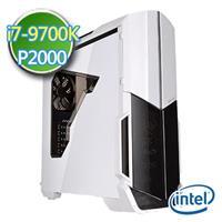 技嘉Z390平台【聖殿彩繪】i7八核 P2000-5G繪圖獨顯 1TB效能電腦