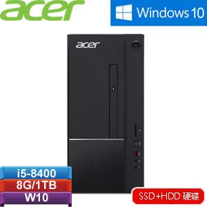 Acer ATC-865-I5-8400-GT1030 桌上型電腦