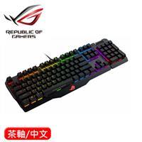 ASUS 華碩 ROG Claymore RGB 全彩機械鍵盤 茶軸 中文