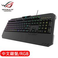 ASUS 華碩 TUF Gaming K5 RGB 機械薄膜電競鍵盤 中文