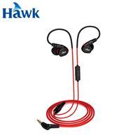 Hawk 逸盛 S300 防水運動型耳機麥克風 紅