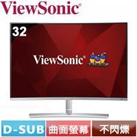 R2【福利品】ViewSonic優派  32型 VA曲面螢幕 VX3216-SCMH