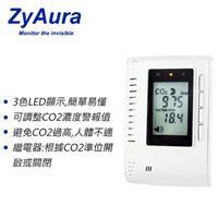 ZyAura - ZGw08VRC - 壁掛式二氧化碳監測儀