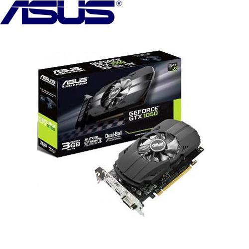 【拆封品出清】ASUS華碩 GeForce PH-GTX1050-3G 顯示卡