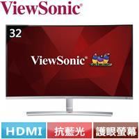 ViewSonic優派 32型 VA曲面螢幕 VX3216-SCMH